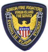 Abzeichen Junior Fire Fighters Virgin Islands