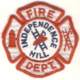Abzeichen Fire Department Independence Hill