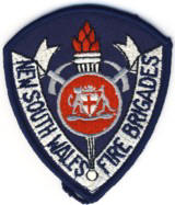 Abzeichen Fire Brigade New South Wales