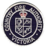 Abzeichen County Fire Authority Victoria