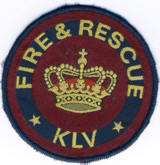 Abzeichen Fire and Rescue KLV