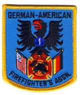 Abzeichen German-American Firefighters Association