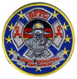 Abzeichen GFFC - German Firefighters Fight Cancer