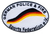 Abzeichen German Police & Fire Sports Federation e.V.