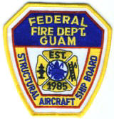 Abzeichen Federal Fire Department Guam