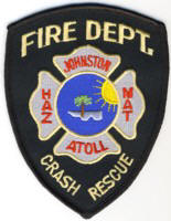 Abzeichen Fire Department Johnston Atoll