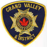 Abzeichen Fire Department Grand Valley