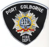 Abzeichen Fire Department Port Colborne