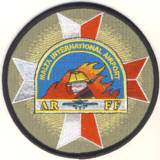 Abzeichen Malta International Airport Fire Department