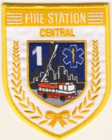 Abzeichen Fire Station Central