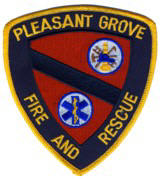 Abzeichen Fire Department Pleasant Grove