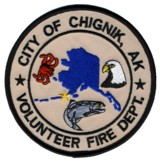 Abzeichen Volunteer Fire Department City of Chignik