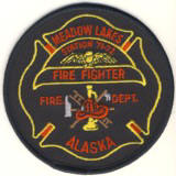 Abzeichen Fire Department Meadow Lakes