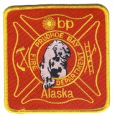 Abzeichen Fire Department Prudhoe Bay