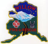 Abzeichen Fire and Rescue Willow