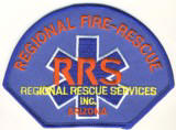 Abzeichen Regional Rescue Services Arizona