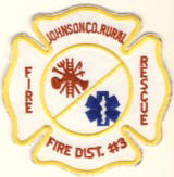 Abzeichen Fire and Rescue Johnson County Rural