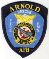 Abzeichen Fire & Rescue Arnold Air Force Base