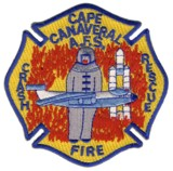 Abzeichen Crash-Fire-Rescue Johnson Control - Cape Canaveral