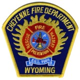 Abzeichen Fire Department Cheyenne Mountain / US Air Force