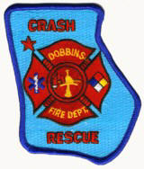Abzeichen Fire Department Dobbins Air Force Base