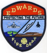 Abzeichen Fire Department Edwards Air Force Base