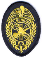 Abzeichen Fire Department Fort Benning