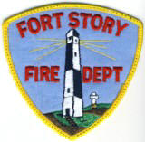 Abzeichen Fire Department Fort Story