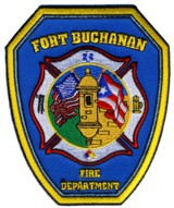 Abzeichen Fire Department Fort Buchanan / Puerto Rico