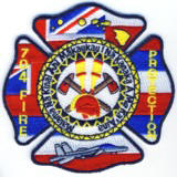 Abzeichen Fire Protection Hickam Air Force Base