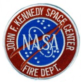 Abzeichen Fire Department Kennedy Space Center / US Air Force