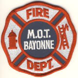 Abzeichen Fire Department M.O.T. Bayonne / New Jersey