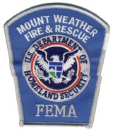 Abzeichen Fire & Rescue U.S. Department of Homeland Security