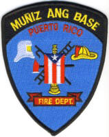 Abzeichen Fire Department Muniz Ang Base / Puerto Rico