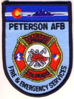 Abzeichen Fire and EMS Services Peterson Air Force Base / Colorado