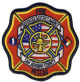 Abzeichen Fire and Rescue Defense Logistics Agency San Joaquin / Fort Belvoir / California