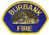 Abzeichen Fire Department Burbank