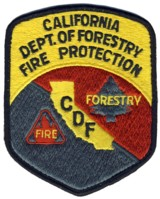 Abzeichen Californie Department of Forestry Fire Protection
