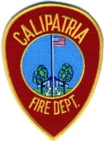 Abzeichen Fire Department Calipatria