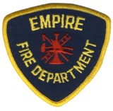 Abzeichen Fire Department Empire