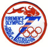 Abzeichen California Firemen's Olympic Thletic Association