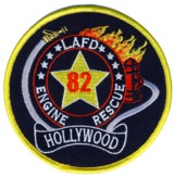 Abzeichen Fire Department Los Angeles / Station 82