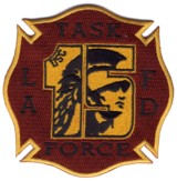 Abzeichen Fire Department Los Angeles / Task Force 15