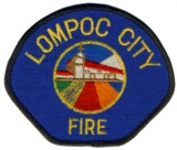 Abzeichen Fire Department Lompoc City