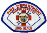 Abzeichen Fire Department Long Beach