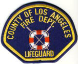 Abzeichen Fire Department Lifeguard County of Los Angeles