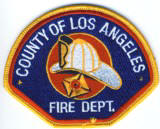 Abzeichen Fire Department County of Los Angeles