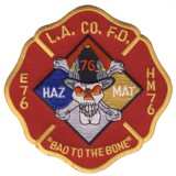 Abzeichen Fire Department Los Angeles / Station 76