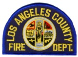 Abzeichen Fire Department Los Angeles County
