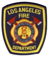 Abzeichen Fire Department Los Angeles